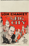 "Movie Posters:Crime, The Big City (MGM, 1928). Window Card (14"" X 22"").. ..."