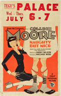 "Movie Posters:Comedy, Naughty But Nice (First National, 1927). Window Card (14"" X 22"")....."