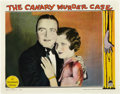 "Movie Posters:Crime, The Canary Murder Case (Paramount, 1929). Lobby Card (11"" X 14"").. ..."
