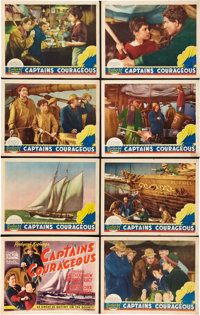 """Captains Courageous (MGM, 1937). Lobby Card Set of 8 (11"""" X 14""""). ... (Total: 8 Items)"""