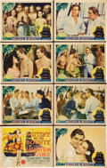 "Movie Posters:Adventure, Mutiny on the Bounty (MGM, 1935). Lobby Card Set of 8 (11"" X 14"").. ..."