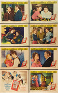 "Movie Posters:Drama, Kings Row (Warner Brothers, 1942). Lobby Card Set of 8 (11"" X14"").. ... (Total: 8 Items)"