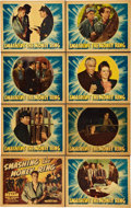 """Movie Posters:Drama, Smashing the Money Ring (Warner Brothers, 1939). Lobby Card Set of8 (11"""" X 14"""").. ... (Total: 8 Items)"""