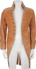 Movie/TV Memorabilia:Costumes, Rudolph Valentino's Costume Coat from an Unspecified Production....