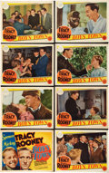 "Movie Posters:Drama, Boys Town (MGM, 1938). Lobby Card Set of 8 (11"" X 14"").. ...(Total: 8 Items)"
