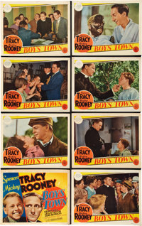 "Boys Town (MGM, 1938). Lobby Card Set of 8 (11"" X 14""). ... (Total: 8 Items)"