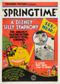"Movie Posters:Animated, Walt Disney's Silly Symphony (Columbia, 1929). One Sheet (27"" X41"") ""Springtime."". ..."