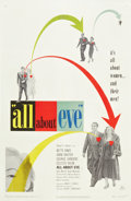 "Movie Posters:Drama, All About Eve (20th Century Fox, 1950). One Sheet (27"" X 41"").. ..."