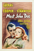 "Movie Posters:Drama, Meet John Doe (Warner Brothers, 1941). One Sheet (27"" X 41"").. ..."