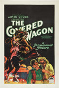 "Movie Posters:Western, The Covered Wagon (Paramount, 1923). One Sheet (27"" X 41"") Style A.. ..."