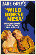 """Movie Posters:Western, Wild Horse Mesa (Paramount, 1932). One Sheet (27"""" X 41"""").. ..."""