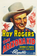 "Movie Posters:Western, The Arizona Kid (Republic, 1939). One Sheet (27"" X 41"").. ..."