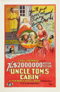 "Movie Posters:Drama, Uncle Tom's Cabin (Universal, 1927). One Sheet (27"" X 41"").. ..."