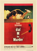 "Movie Posters:Hitchcock, Dial M For Murder (Warner Brothers, 1954). Window Card (14"" X19.25"").. ..."