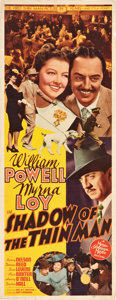 "Movie Posters:Mystery, Shadow of the Thin Man (MGM, 1941). Insert (14"" X 36"").. ..."