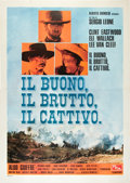 """Movie Posters:Western, The Good, the Bad and the Ugly (PEA, R-1968). Italian 4 - Folio(55"""" X 78"""").. ..."""