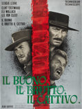 "Movie Posters:Western, The Good, the Bad and the Ugly (PEA, 1966). Italian 2 - Folio (39""X 55"").. ..."