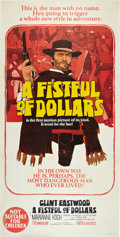 "Movie Posters:Western, A Fistful of Dollars (United Artists, 1967). Australian Three Sheet (41"" X 79"").. ..."