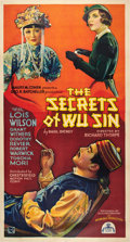 "Movie Posters:Mystery, The Secrets of Wu Sin (Chesterfield, 1932). Three Sheet (41"" X81"").. ..."