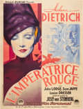 "Movie Posters:Drama, The Scarlet Empress (Paramount, 1934). French Grande (47"" X 63"")....."