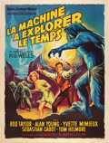 "Movie Posters:Science Fiction, The Time Machine (MGM, 1960). French Grande (47"" X 63"").. ..."