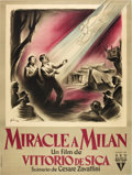 "Movie Posters:Drama, Miracle in Milan (RKO, 1951). French Grande (47"" X 63"").. ..."
