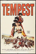 "Movie Posters:Adventure, Tempest (Paramount, 1959). One Sheet (27"" X 41""). Adventure.. ..."