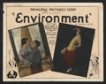 "Movie Posters:Crime, Environment (Principal Distributing, 1922). Title Lobby Card andLobby Cards (2) (11"" X 14""). Crime.. ... (Total: 3 Items)"