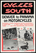 "Movie Posters:Documentary, Cycles South (Dal Arts, 1971). One Sheet (27"" X 41""). Documentary.. ..."