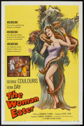 """Movie Posters:Horror, The Woman Eater (Columbia, 1959). One Sheet (27"""" X 41""""). Horror.. ..."""
