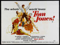 "Movie Posters:Comedy, Tom Jones (United Artists, 1963). British Quad (30"" X 40"").Comedy.. ..."