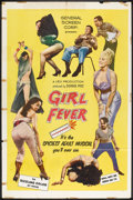 "Movie Posters:Sexploitation, Girl Fever (Pathe, 1960). One Sheet (27"" X 41""). Sexploitation....."