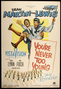 """You're Never Too Young (Paramount, 1955). One Sheet (27"""" X 40""""). Comedy"""