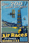 """Movie Posters:Miscellaneous, Air Races (1923). Air Show Poster (14"""" X 21""""). Miscellaneous.. ..."""