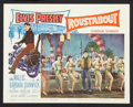 """Movie Posters:Elvis Presley, Roustabout Lot (Paramount, 1964). Lobby Cards (4) (11"""" X 14"""") andOne Sheet (27"""" X 41""""). Elvis Presley.. ... (Total: 5 Items)"""