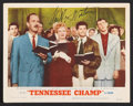 """Movie Posters:Drama, Tennessee Champ (MGM, 1954). Lobby Cards (3) (11"""" X 14""""). Drama.. ... (Total: 3 Items)"""