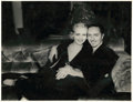 "Movie Posters:Miscellaneous, Carole Lombard and William Powell by Elmer Fryer (Paramount, 1931).Portrait (10.5"" X 13.5"").. ..."