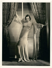 "Joan Crawford in ""Grand Hotel"" by George Hurrell (MGM, 1932). Portrait (10"" X 13"")"