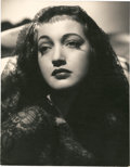 """Movie Posters:Miscellaneous, Dorothy Lamour by A.L. Whitey Schafer (Paramount, 1940s). Portrait (10"""" X 13"""").. ..."""