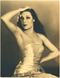 "Movie Posters, Dolores del Rio by Edwin Bower Hesser (1920s). Portrait (10"" X 13"").. ..."