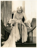 "Movie Posters:Comedy, Thelma Todd Still by Elmer Fryer (Warner Brothers, 1930s). Portrait(11"" X 14"").. ..."