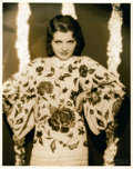 """Movie Posters:Miscellaneous, Peggy Shannon by Otto Dyar (Paramount, 1930s). Portrait (10.75"""" X 13.5"""").. ..."""