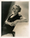 """Movie Posters:Miscellaneous, Leila Hyams by George Hurrell (MGM, Early 1930s). Portrait (10"""" X 13"""").. ..."""