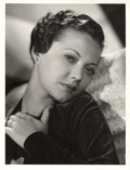 "Movie Posters:Crime, Sylvia Sidney in ""Fury"" by Clarence Sinclair Bull (MGM, 1936).Portrait (10"" X 13"").. ..."