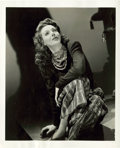 "Movie Posters:Miscellaneous, Loretta Young in A Night to Remember by George Hurrell (Columbia, 1942). Portrait Photo (8"" X 10""). Miscellaneous.. ..."