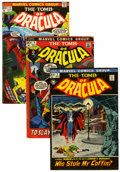 Bronze Age (1970-1979):Horror, Tomb of Dracula Group (Marvel, 1972-76) Condition: Average VG....(Total: 15 Comic Books)