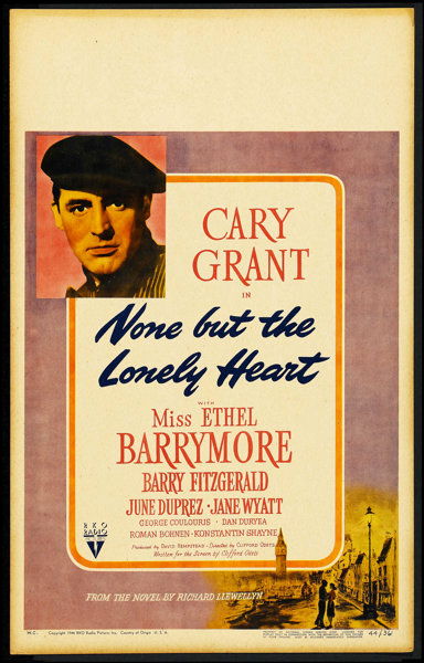 1c2e902c9 None But The Lonely Heart (RKO, 1944). Window Card (14
