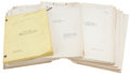 Movie/TV Memorabilia:Documents, Paramount Pictures And Now Tomorrow and Others Assorted1940s Drama Scripts.... (Total: 21 Items)