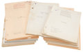 Movie/TV Memorabilia:Documents, Paramount Pictures Vintage Drama Scripts from 1928-39, IncludingInterference, Hotel Imperial, and Oth... (Total: 32Items)