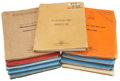 Movie/TV Memorabilia:Documents, 20th Century-Fox Vintage 1940s Movie Scripts.... (Total: 13 Items)